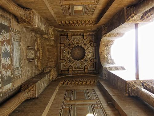 Ceiling of The Entrance - Masjid Al Rifai مسجد الرفاعي / Cairo / Egypt - 28 05 2010