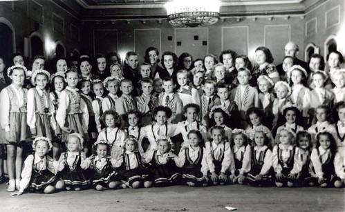 Bērnu baleta pulciņš, vadītāja Zēberga, 1958 gads, SkReizina029
