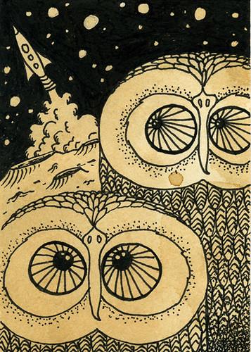 Lunar Strigiformes