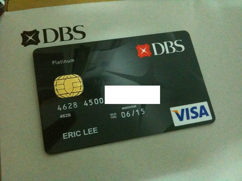 Debit Card of DBS