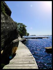 Sommar (Ailema8) Tags: muelle verano sverige roca suecia sommar gustavsberg hamn