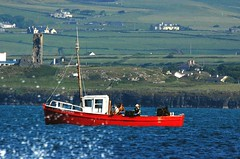 Fishing for Lobsters (Gaz-zee-boh) Tags: ireland see boat fishing clare fishingboat sinead coclare d40 lobsterfishing 5photosaday obrienscastle nikond40 almostanything liscannorbay