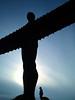 The Angel of North (MohaMmad@LI) Tags: uk england angel newcastle nikon united north kingdom tyne 60 upon the شمال انگلستان دی نیکون فرشته نیوکاسل بریتانیاd60