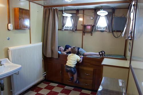 Shipboard crew's quarters