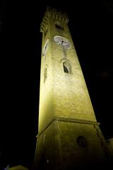 Santarcangelo (eastwood_clint) Tags: panorama tower night torre view tripod rimini campanile notturno bellfry treppiede santarcangelo