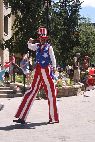 Fourth of July parades in Vail, Colorado, are always a highlight.