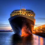 Cruise Ship at Ogden Point (HDR)