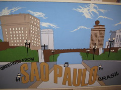 Willy Wonka Sao Paulo postcard  finished