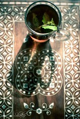 Have A Blessed Friday -   (Shakir's Photography) Tags: red black cup tea mint islamic  sabir shakir