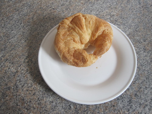 Croissant at Dad's