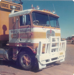 dickinsons (slayertat) Tags: classic truck australian kenworth brucedickinson cabover