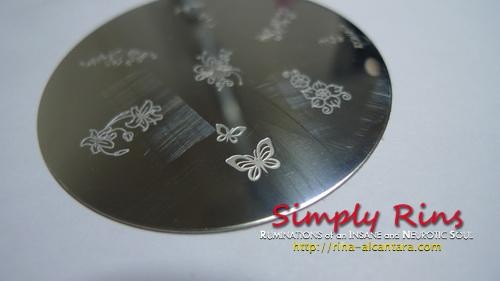 Konad Stamping Nail Art 013