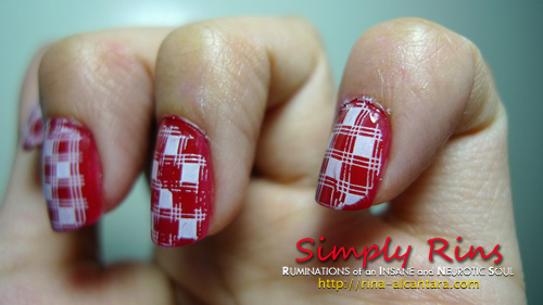 Konad Stamping Nail Art 011