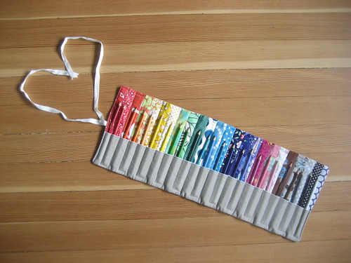 colored pencil roll