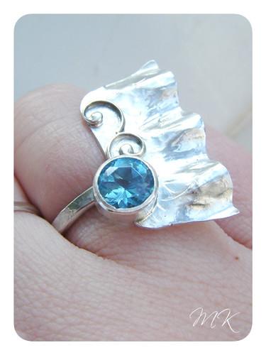 Topaz ring 8