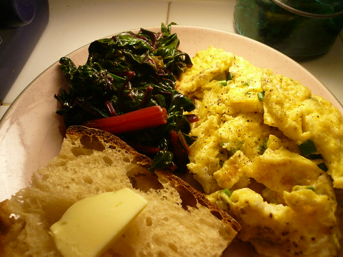 Greens and eggs