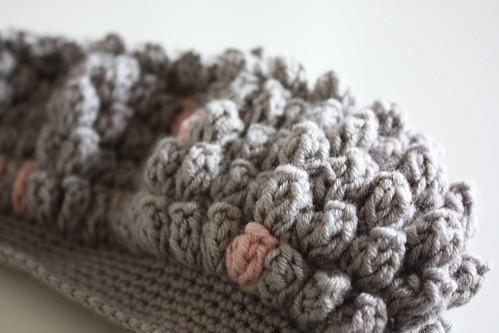 p op corn stitch beret