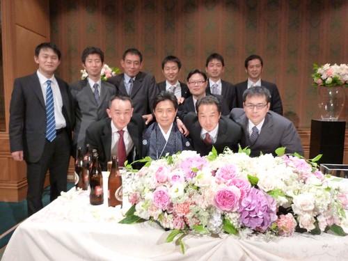 北高OB結婚式