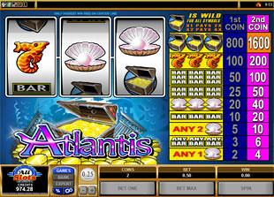 Atlantis slot game online review