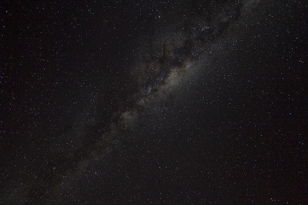 La vía láctea se puede observar en una imponente noche estrellada en la Ciudad de Filadelfia. (Tetsu Espósito - Filadelfia, Chaco, Paraguay)