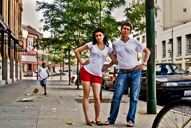 Lucia & Brad Uptown