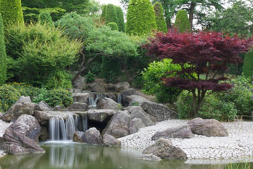 Waterfall @ Japanese Garden Bonn