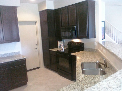 Kitchen at Metro Townhomes