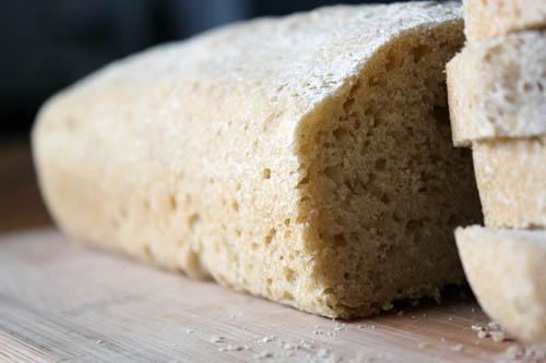 oat flour bread.