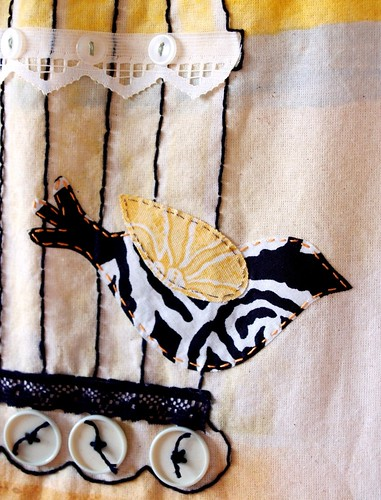 Alter-A-Bag kit: bird applique