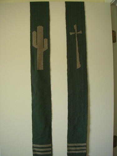 "The ""Front"" of Jeff's Stole"