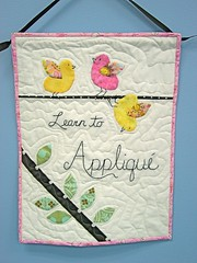 Hand Applique Sampler