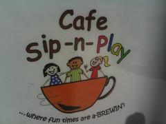 Cafe sip n play