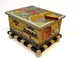Sticksой  BOX006 Use Grandma's Recipes (front)