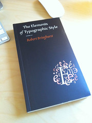 Elements of Typographic Style (iamthomasbishop) Tags: book iphone tyography