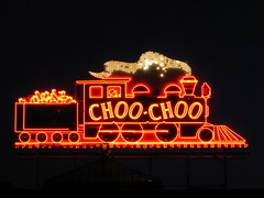 Chattanooga Choo Choo sign