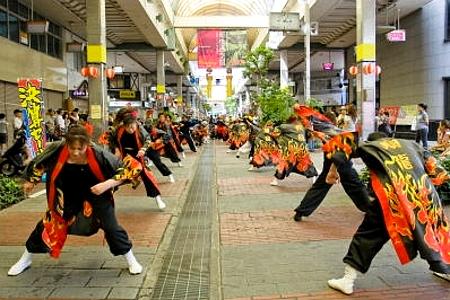 よっしゃこい祭 2010 呉市にて
