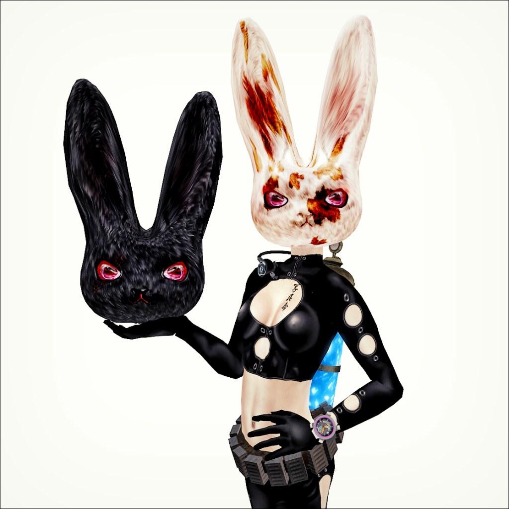bunny head gatcha