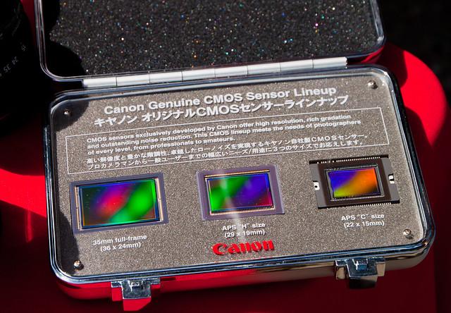 Canon CMOS sensors