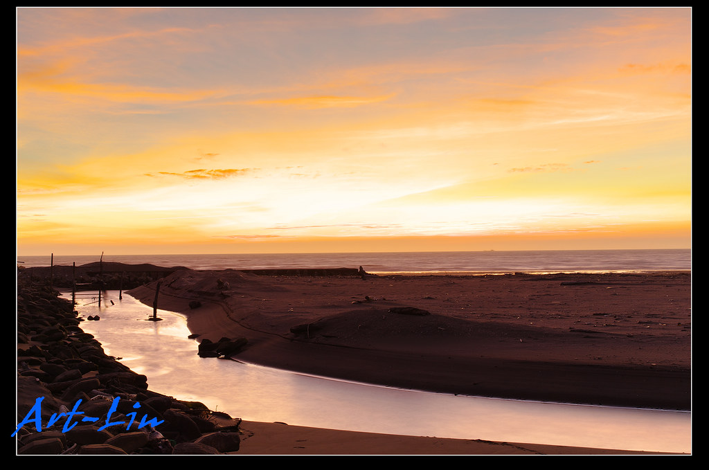 永安漁港黑卡習拍+夜景
