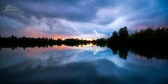Lake Salish (Jesse Estes) Tags: clouds oregon lakesalish jesseestesphotography
