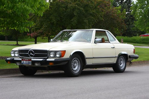 1977 Mercedes Benz 450 SL Feeling Guilty?