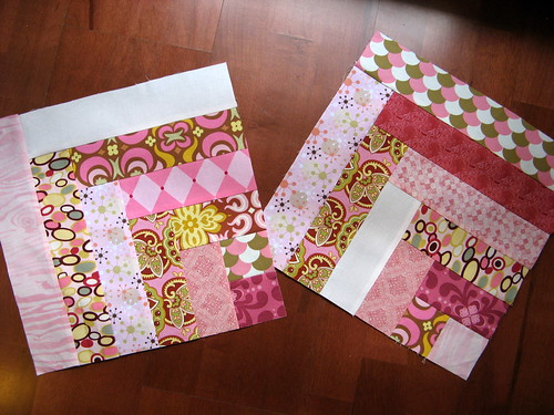 Pretty in Pink Bee - August Blocks 1 and 2