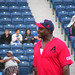 Michael Clark Duncan at Steve Garvey's Softball Classic 2010