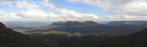 Jamison Valley Pano