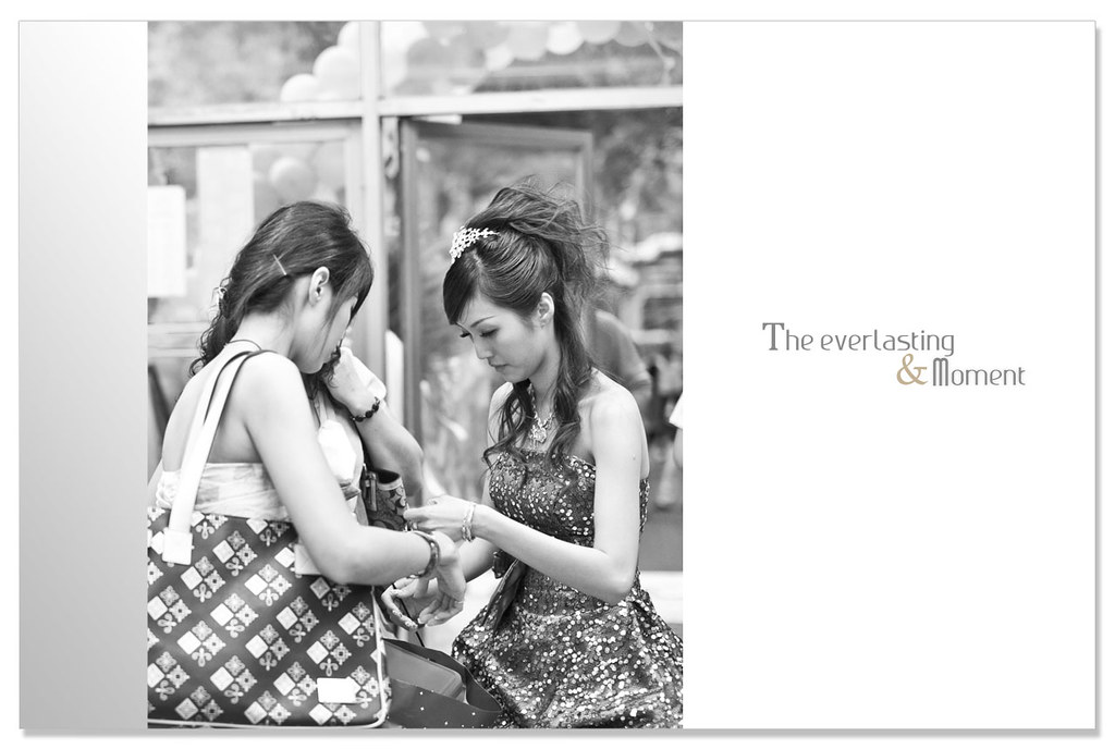 『永恆的瞬間 』 志江。嫈茜 婚禮記錄