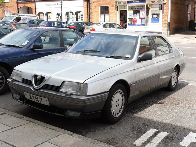 Alfa Romeo 164 Cloverleaf (1990)