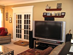 "Home Theater (Jackson NJ) -  60"" LCD, surround system"
