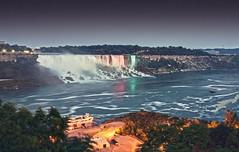 Twilight at Niagara Falls (Kjers..) Tags: longexposure ontario canada nature landscape niagarafalls waterfall hdr