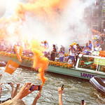 Dutch return home in triumph