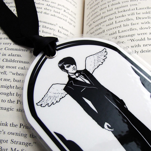 angel bookmark close